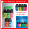 Mini Highlighter Marker Pen with PVC Box Packing (M-3306)