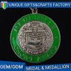 3D Logo Metal Sports Medal Engraving Medal with Colorful Ribbon
