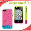 Cheap Fashion Silicone Rabbit Case for iPhone 4G (DY-002)