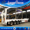 Hydraulic Ramp 80tons Lowbed Truck Semi Trailers for Sale