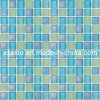 Light Blue Crystal Glass Mosaic Tiles for Children Swimming Pool