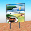 Sign Board Outdoor Banner Display Advertising Board