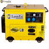Portable 5kw Super Silent Single Phase Diesel Generator with Wheels
