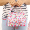2017 New Lunch Bags Pouch Storage Box Flowers Insulated Thermal Cooler Bag Picnic Tote Bolsa Termica Lancheira N563