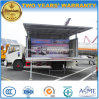 30 Square Meters Movable Stage Performing Truck with LED Screen
