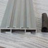 6000 Series Silver Anodized Aluminium Door Profiles