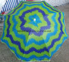 Outdoor Beach Umbrella Colourful Sun Umbrella