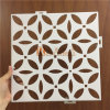 White Color Flower Pattern Perforated Aluminum Veneer