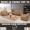 Sectional Top Grain Leather Sofa (Lz203)