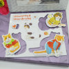 Hot Sale Magnetic Sticker Animal Fridge Magnet Puzzle for Children