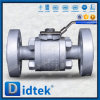 Didtek A105 Soft Seal Forged Steel Raised Face Flanged Floating Ball Valve