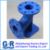 En545/En598 Ductile Iron Fitting with Double Flanged Duckfoot Bends