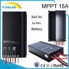 IP67 Li-ion Battery MPPT 15A 12V/24V Solar Controller Sm1575-Li