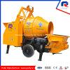 Pully Manufacture Original Kawasaki Main Pump Mobile Trailer Concrete Mixer Pump for Sale (JBT40-P)