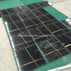Polished Nero Tunisia, Black Aziza Marble Tiles for Flooring/Bathroom Wall