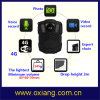 WiFi / Bluetooth / 4G / 3G / GPS Police Body Worn Camera with IR Night Vision