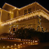 110V Outdoor Party Decoration Christmas LED Icicle Lights