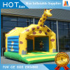 Family Garden Toy Inflatable Small Giraffe Bouncy Castle