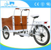 Fiets Tricycle Freight Van Home Use