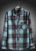 100% Cotton Men Fashion Long Sleeve Casual Shirt
