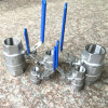 DIN Stainless Steel 2PC Ball Valve with Bsp Threaded Ends