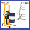 Weighting Scale Hydraulic Lifting Oil Drum Transporter