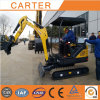 CT18-9ds (0.04m3 bucket&retractable chassis) Mini Excavator with Cabin