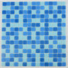 Blue Glass Mosaic Mosaico Chinese Cheap Swimming Tile