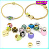 2016 New Fashion Wholesale Cheap Alloy Beads Charm Snack Bracelet