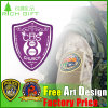 Custom High Quality Patch Fabric Embroidery Badge for Clothing