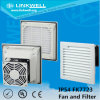 "8"" Window Type Louvre Filter with Fan for Cabinet Ventilation (FK7723)"