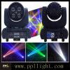 Lens Rotating 4X15W Mini LED Moving Head Beam Light