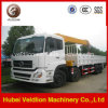 10 Ton Hydraulic Telescopic/Knuckle Boom Truck with Crane