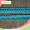 African Fabrics No Minimum Order Blue Trimming Handmade Crochet Lace