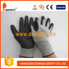 Ddsafety 2017 Grey Nylon with Black Nitrile Foam Glove