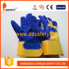 Ddsafety 2017 Cow Split Blue Leather Welding Working Glove
