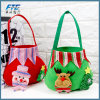 Christmas Santa Claus Candy Gift Bag Shopping Bag Non-Woven Bag