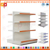 4 Tier Customized Supermarket Steel Double Side Display Shelf Stand (Zhs519)