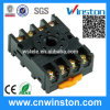 Round Type DIN Rail Mouting Electric Relay Socket with CE