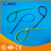 High Quality Colorful Cord Organizer Custom Logo Plastic Self Locking Nylon Cable Tie