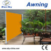 Outdoor Aluminium Retractable Side Awning for Office Screen (B7100)