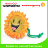 Reusable Fashion Sunflower Emoji Foldable Polyester Shopping Bag