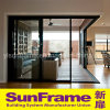 Aluminium Sliding Door with Good Performance and Hot Sales in Turkey