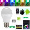 2.4G WiFi Remote Control Lamp Light RGBW 6W 85-265V Input LED E27 Bulb LED Color Adjustable