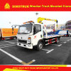Sinotruk Light Duty 4X2 Wrecker Truck Mounted Crane