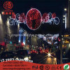 LED 6m Iron Frame Luces De Navidad Antique 2D Across Street Motif Christmas Light