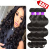 Brazilian Virgin Hair 4 Bundles Brazilian Body Wave Wet and Wavy Virgin Brazilian Hair Body Wave Remy Human Hair