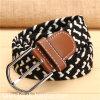 Custom Elastic Woven Fabric Belt for Unisex