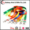 OEM Custom Printed Promotional Neck Plain Nylon Strap Key Chain