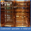 Hotsale Stainless Steel Silver Wine Display Rack for Bar/Club